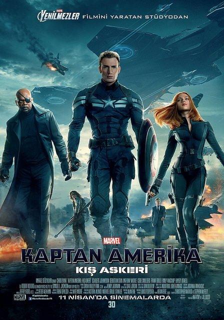 Kaptan Amerika: Kış Askeri filminden kareler