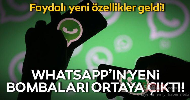 WhatsApp iPhone uygulamasına iki yeni özellik geldi! WhatsApp kullanıcıları bu özellikleri çok sevecek!
