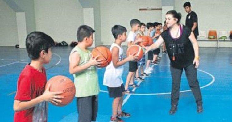 Basketbol il spor okulu ilgi görüyor