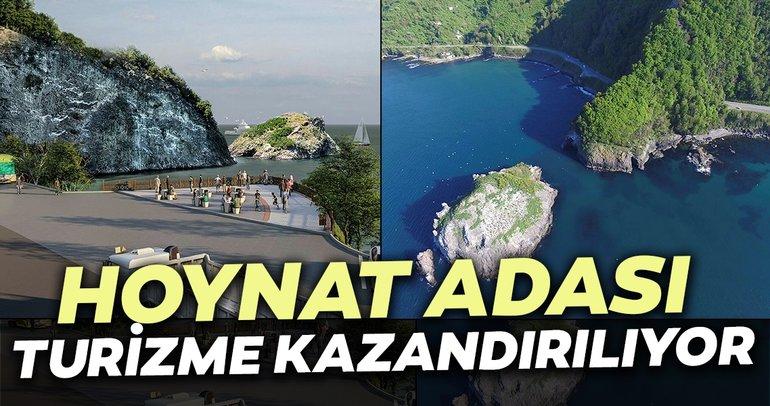 Sakin şehir Perşembe'deki Hoynat Adası turizme kazandırılacak