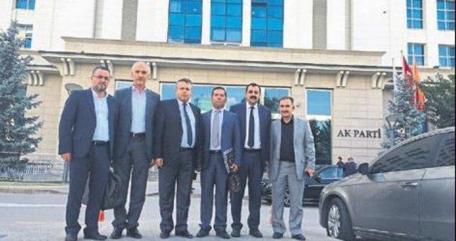 AK Parti Elmalı'ya Hüyük atandı