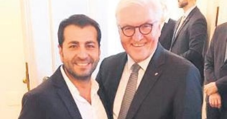 Steinmeier Türk şefi ağırladı