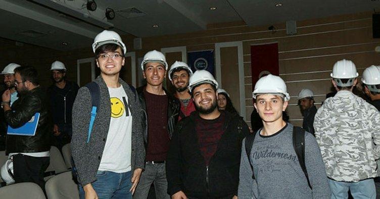 Bayburt Üniversitesi baret giydirme merasimi düzenlendi