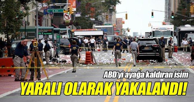 New York'taki patlamanın zanlısı yakalandı!