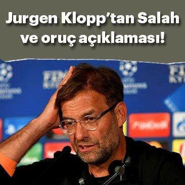 Jurgen Klopp: Salah formunun zirvesinde