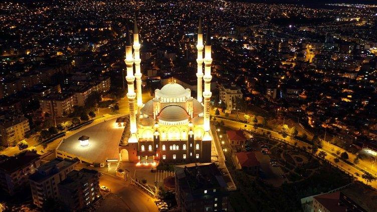 Üçüncü büyük cami sosyal hayatın merkezi