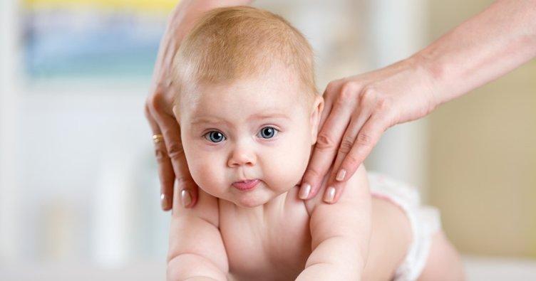 Bebeğe yapılan masaj kilo aldırıyor!