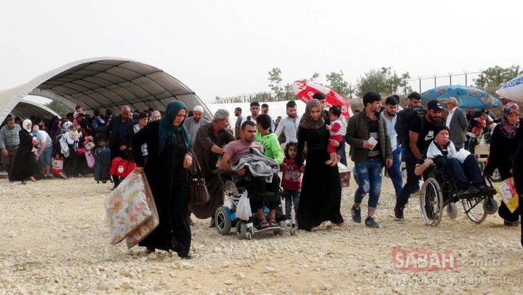 Bayram ziyaretine giden Suriyeliler geri dönmedi