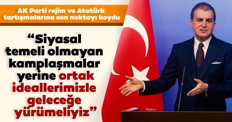 Son dakika haberi! AK Parti sözcüsü Ömer Çelik Cumhuriyetimiz tüm nitelikleriyle gözbebeğimizdir