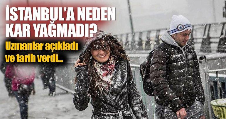 İstanbul'a kar yağmamasının nedeni: Isı adası...