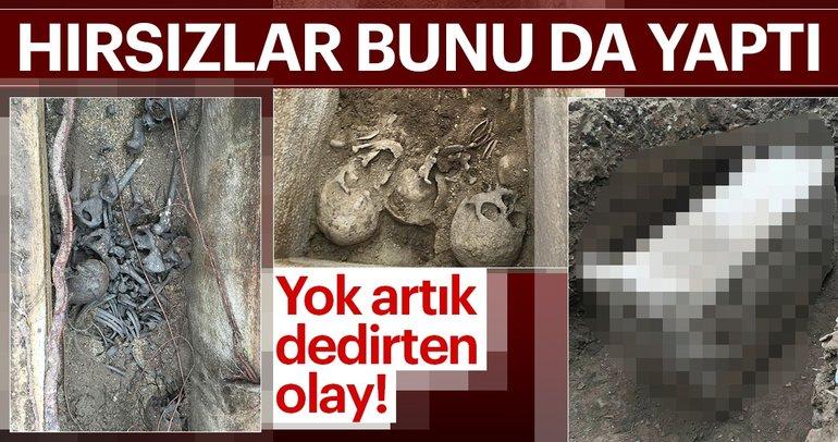 İzmir'de 1700 yıllık lahiti satmak isteyen hırsızlar yakalandı