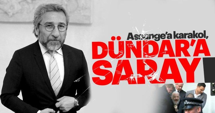 Hilal Kaplan yazdı: Assange'a karakol, Dündar'a saraylar!