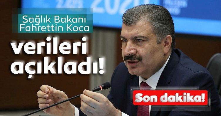 Bakan Koca'dan son dakika: 5 Kasım koronavirüs hasta ve vefat sayılarını açıkladı! İşte Türkiye'de koronavirüs son durum tablosu