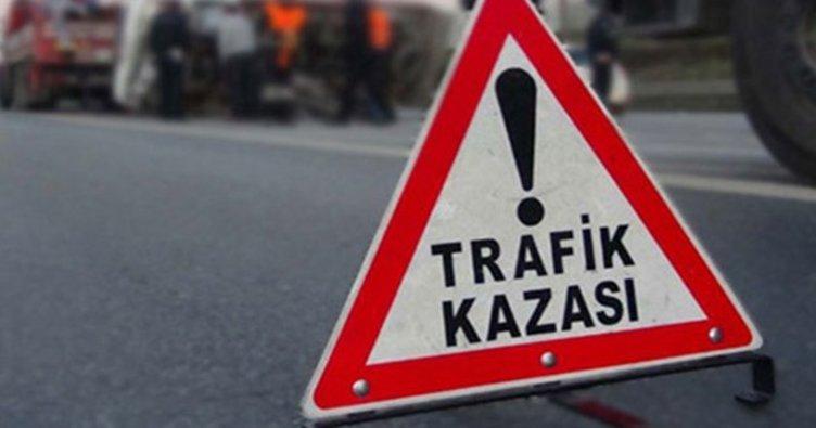 Konya'da LPG tankeri ile otomobil çarpıştı: 4 yaralı