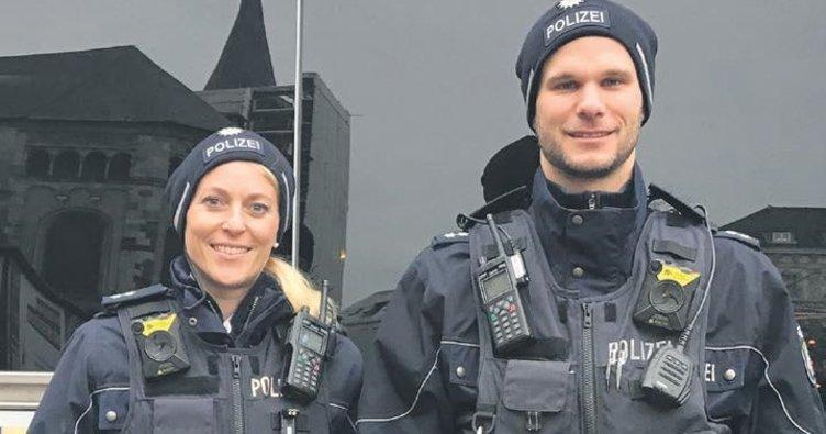 Yaka kameralı polis işbaşında