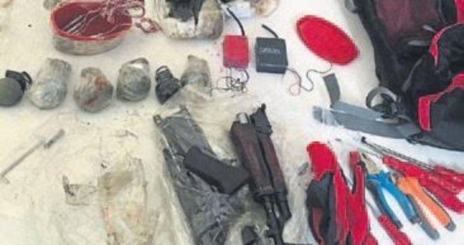 Eyleme hazırlanan PKK'lı yakalandı