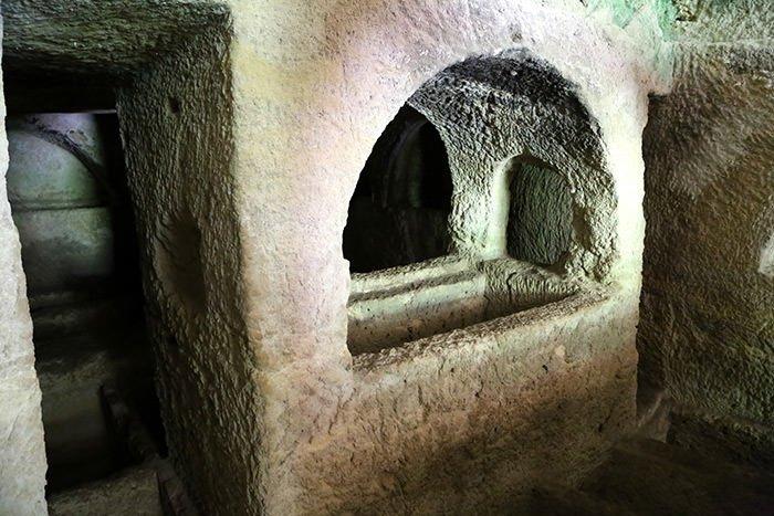 Esirlerin yaptığı tünelde tarihi yolculuk