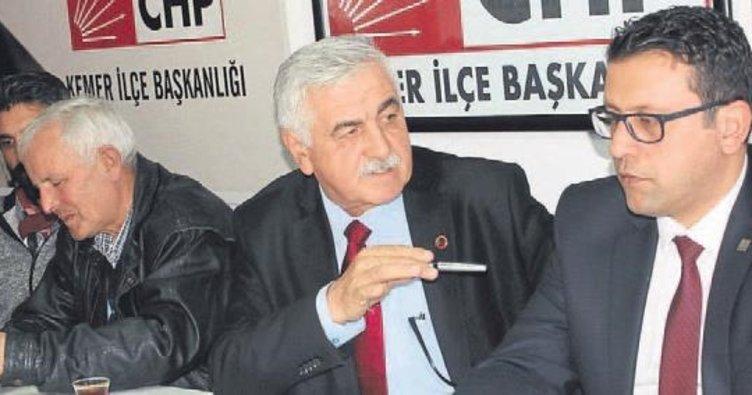 Kemer'de CHP kaynıyor