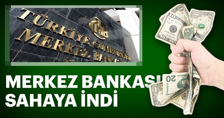 Merkez Bankası sahaya indi