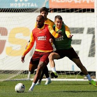 Galatasaray Sivasspor'a hazırlanıyor