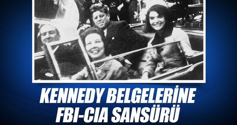 Kennedy belgelerine FBI-CIA sansürü