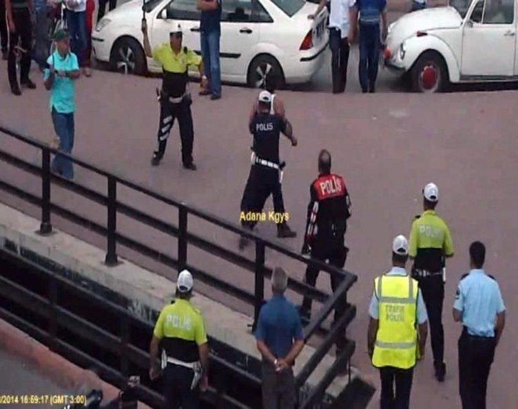Polisden insanlık dersi