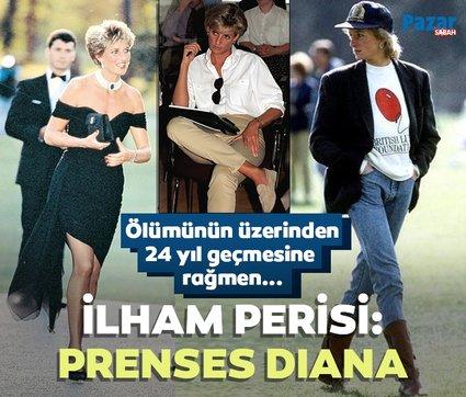 Ölümünün üzerinden 24 yıl geçti! İşte 2021'in ilham perisi Prenses Diana