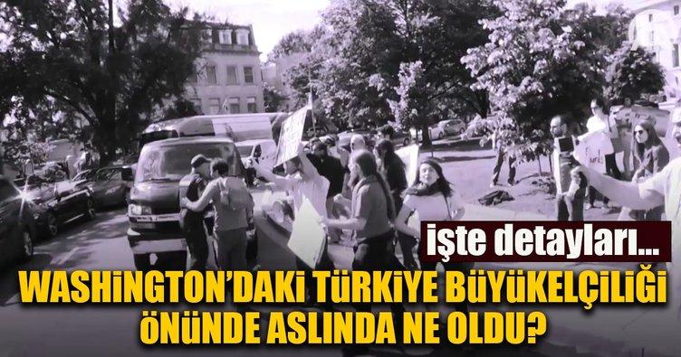 Türkiye Büyükelçiliği önünde neler yaşandı?İşte detayları...
