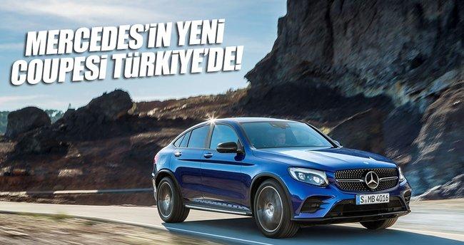 Yeni Mercedes-Benz GLC Coupé Türkiye'de
