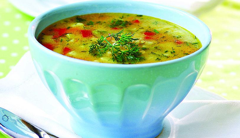 Buğdaylı Sebze Çorbası