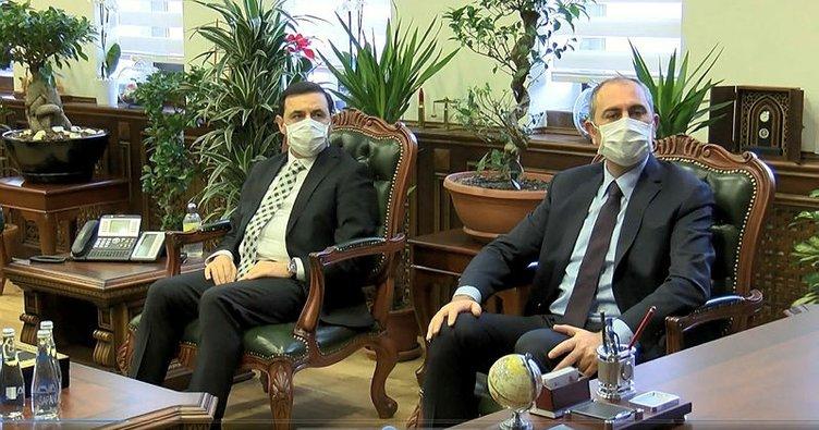 Bakan Gül'den, Ankara Cumhuriyet Başsavcısı Akça'ya ziyaret