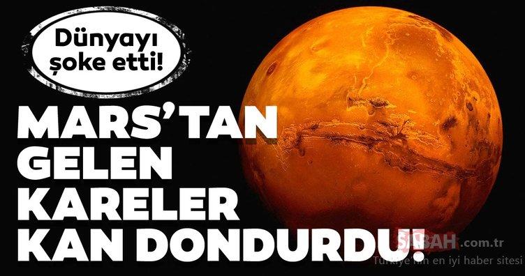 Mars'tan gelen kareler kan dondurdu! Dünyayı şoke etti!