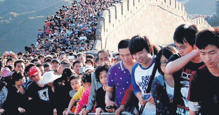 Çin'in nüfusu 800 milyon azalacak