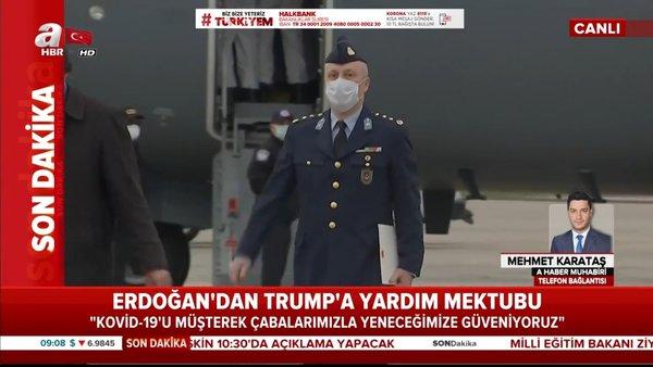 Son dakika: Cumhurbaşkanı Erdoğan'dan ABD Başkanı Trump'a mektup | Video
