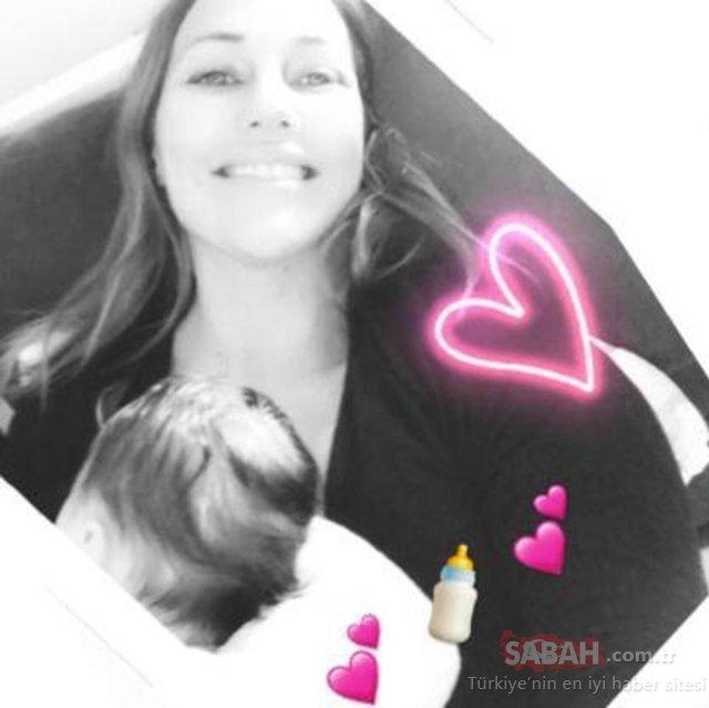 Meryem Uzerli 1,5 aylık kızı Lily Koi'yi kucağından ayırmıyor! Taze anne Meryem Uzerli'den minik kızıyla yeni paylaşım