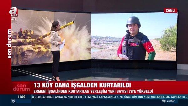 Azerbaycan cephe hattından son dakika haberi... İşte Ermesnistan Azerbaycan çatışmalarında son durum!   Video
