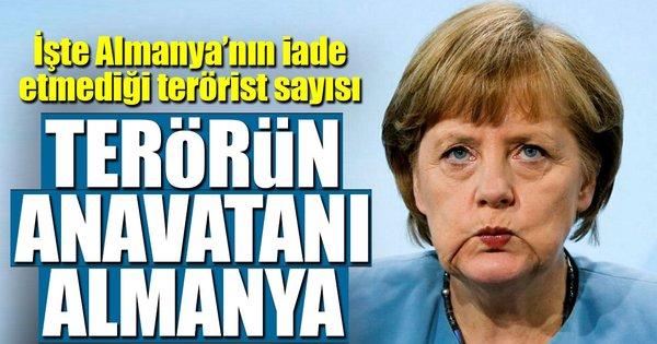 Terörün anavatanı Almanya!