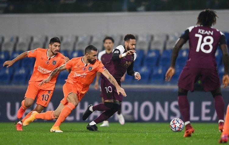 Fransız basınından flaş Başakşehir-PSG yorumu! Uyku ilacı almış gibi