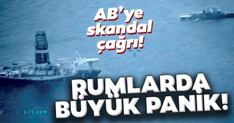 Rum Kesimi'nin Türkiye korkusu! Doğu Akdeniz için AB'den skandal talep...