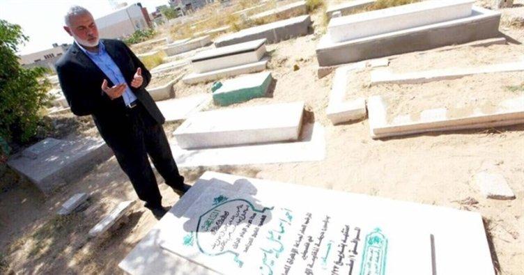 Hamas'ın yeni lideri Heniyye'nin ilk ziyareti duygulandırdı