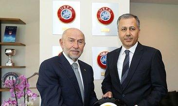 İstanbul Valisi Ali Yerlikaya'dan TFF Başkanı Nihat Özdemir'e ziyaret