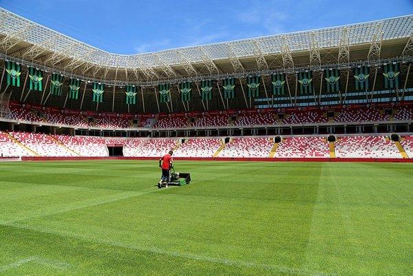 Yeni 4 Eylül Stadyumu, Galatasaray - Akhisarspor maçına hazır
