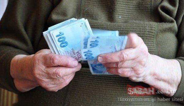 Emekli için Temmuz'da 375 TL zam, Ağustos'ta bin TL ikramiye! İşte 2019 güncel emekli maaşları