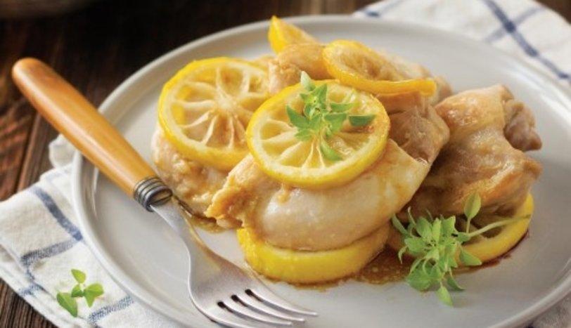 Soya soslu limonlu tavuk