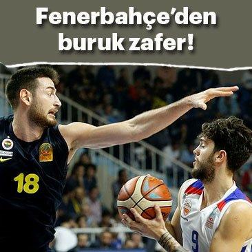 Fenerbahçe'den buruk zafer