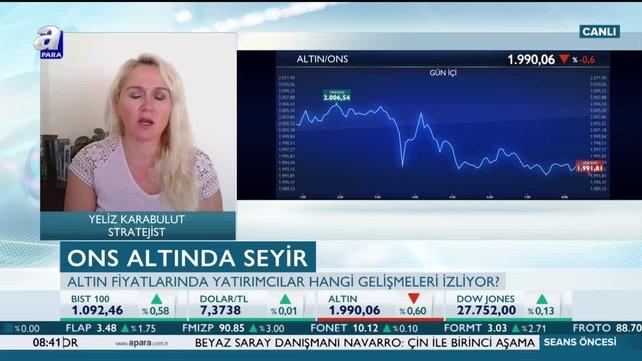 Altın fiyatları düşecek mi? Karabulut: Beklentiler gerçekleşti noktasıyla birlikte satış baskısı gelebilir