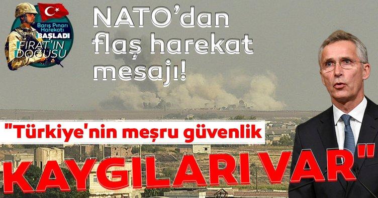 NATO'dan flaş harekat mesajı!