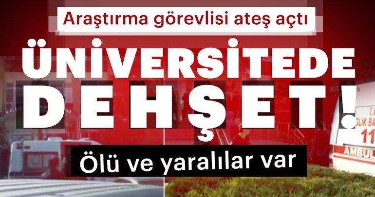 Son Dakika: Eskişehir Osmangazi Üniversitesi'nde silahlı saldırı! 4 öğretim görevlisi hayatını kaybetti