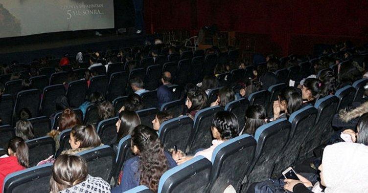SERKA, 540 öğrenciyi sinemayla buluşturdu