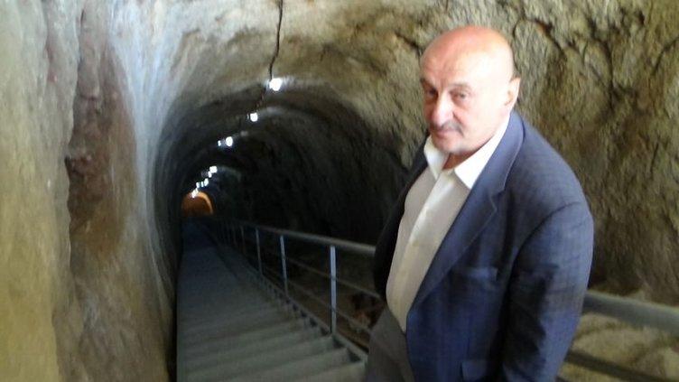 Dracula'nın esir tutulduğu mağaranın 80 metre altına inildi